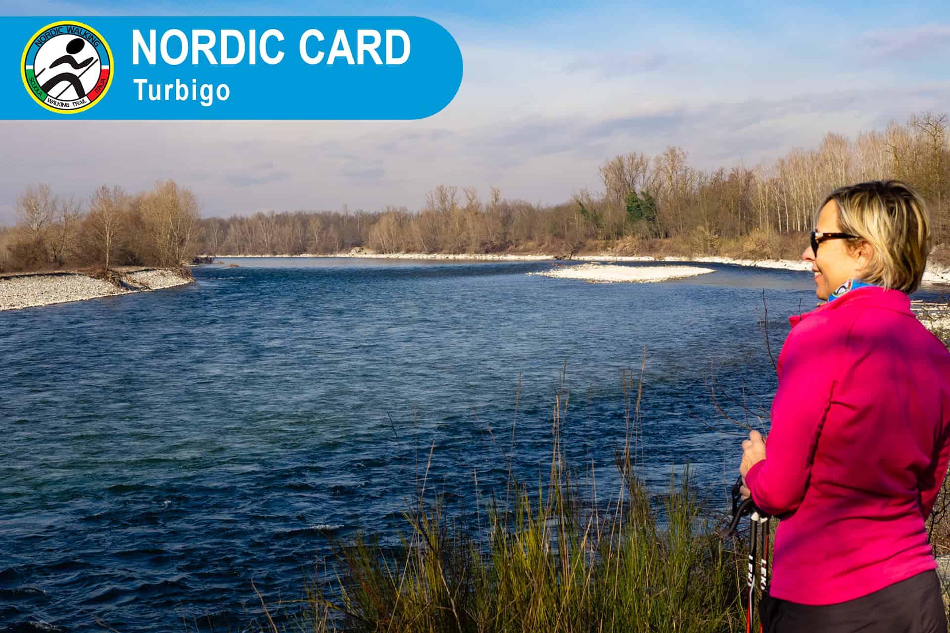 Nordic Card Camminata Nordic Walking a Turbigo - Roberto Fontana Istruttore Nordic Walking Scuola Walking Trail Italia